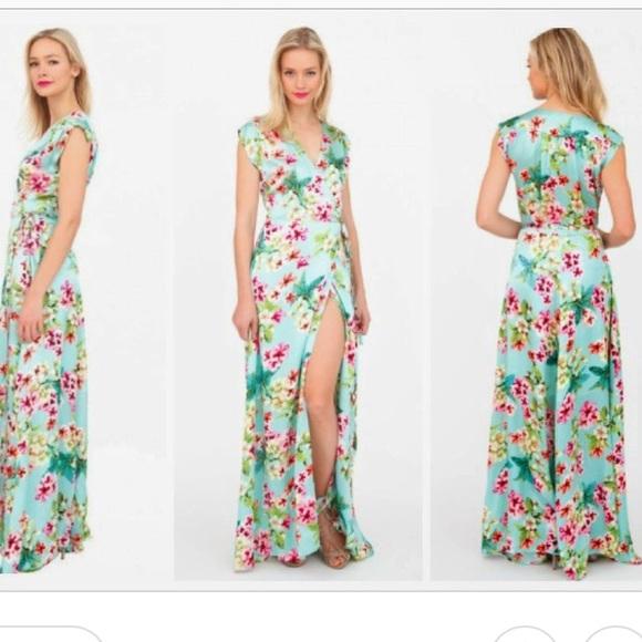 Yumi Kim Dresses Swept Away Silk Maxi Dress Sweet Harmony Poshmark
